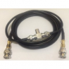DUAL COAX CABLE VEHICLE ANTENNA KIT
